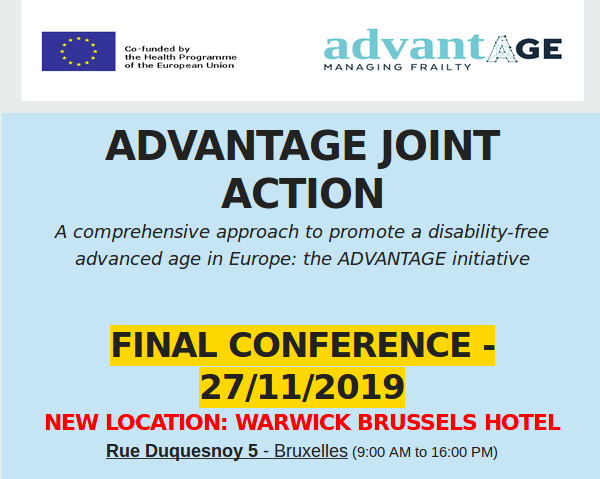 Come to Final Conference ADVANTAGE JOINT ACTION